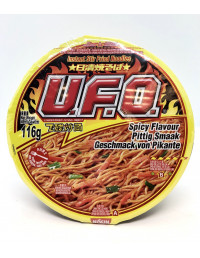 NISSIN UFO INSTANT STIR FIRED NOODLES SPICY FLAVOUR - 116g