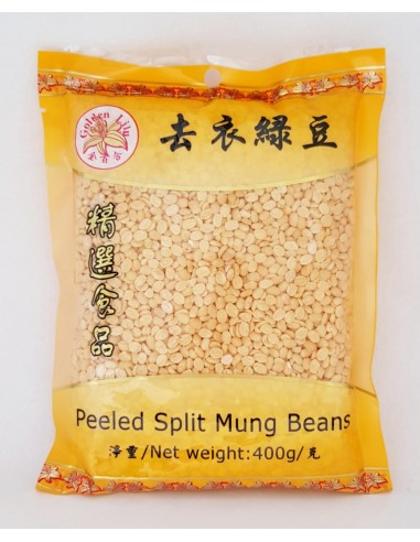 GOLDEN LILY PEELED SPLIT MUNG BEANS -...