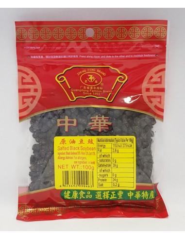 ZHENG FENG SALTED BLACK SOYBEAN - 100g