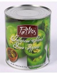 Green Jalapeño Peppers - 2.9kg - Pathos