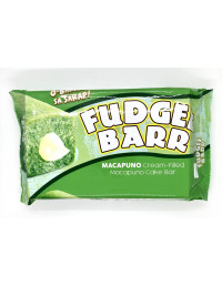 FUDGEE BARR MACAPUNO(COCONUT) FLAVOURED FILLED CAKE - 390g