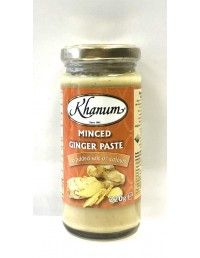 KHANUM MINCED GINGER PASTE...