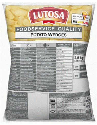 LUTOSA POTATO WEDGES - 2.5KG