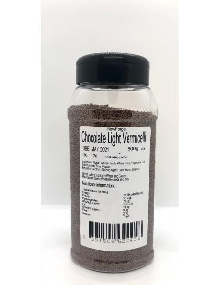 CHOCOLATE LIGHT VERMICELLI - 600g