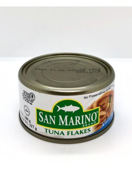 SAN MARINO TUNA FLAKES AFRITADA STYLE - 180g