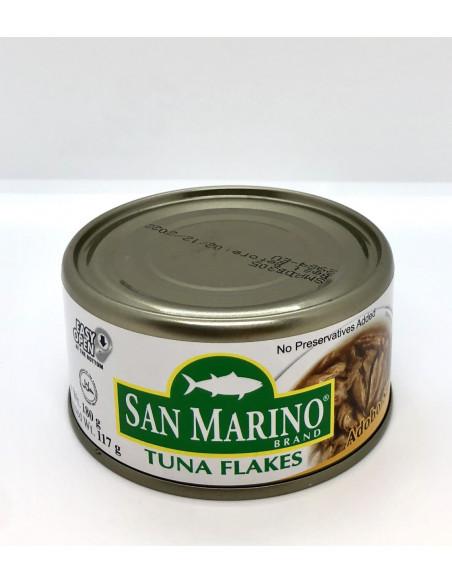SAN MARINO TUNA FLAKES ADOBO STYLE - 180g