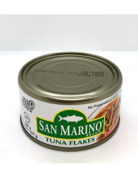 SAN MARINO TUNA FLAKES CALDERETA STYLE - 180g