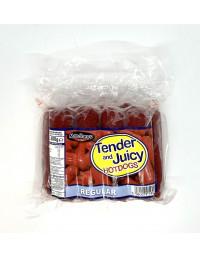 MANDHEYS TENDER AND JUICY HOTDOGS REGULAR - 500G