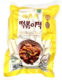 NBH KOREAN RICE CAKE STICK SHAPE FOR TTEOKBOKKI - 500g