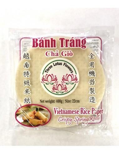 22cm BANH TRANG RICE PAPER - 400g