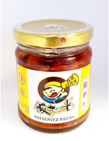 FAN SAO GUANG PRESERVED RADISH - 280g