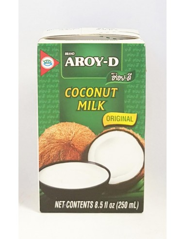 AROY-D COCONUT MILK ORIGINAL- 250ml